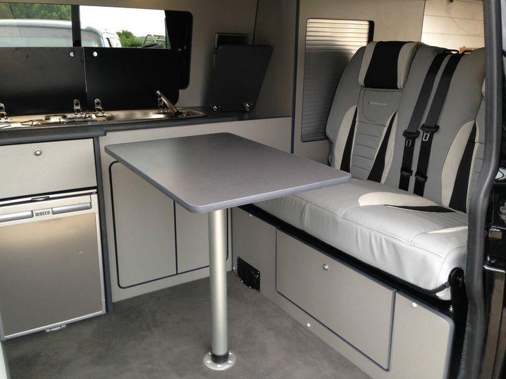 Vw T5 Lightweight Flatpack Campervan Interior Kitchen Unit Majestic Wood Design Kitchen Unit