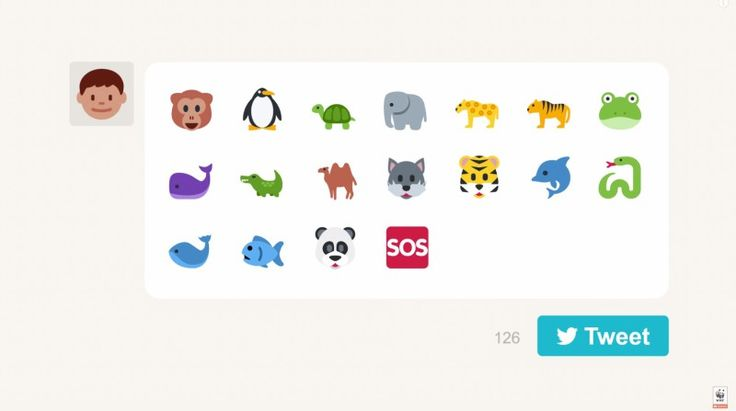World Wildlife Foundation's #EndangeredEmoji Campaign Uses Twitter To Solicit Support And Donations For Endangered Species