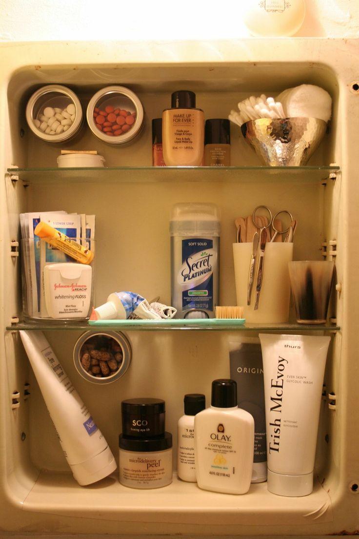 Bathroom Cabinet Organizer 17 Best Ideas About Medicine Cabinet Organization On Pinterest