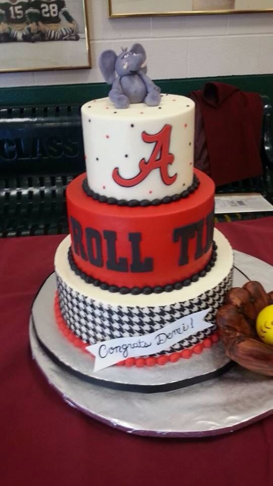 Alabama Cake Alabama Crimson Tide RTR Pinterest