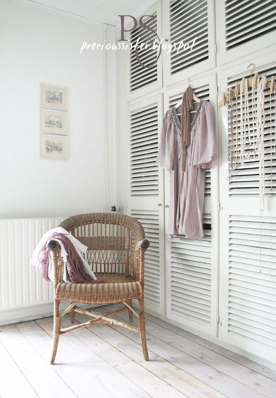 Precious sister home organized ideas pinterest for Bedroom wardrobe shutter designs