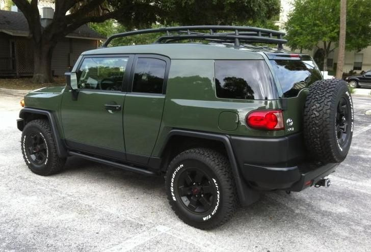 2013 Toyota FJ Cruiser Trail Team Is Military Grade