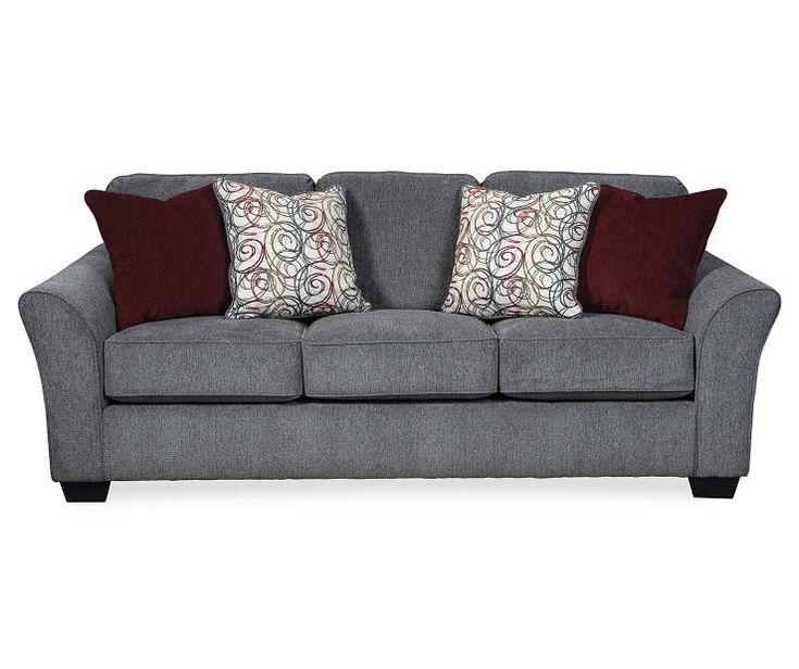 Signature Design By Ashley Idlebrook Gray Sofa Big Lots