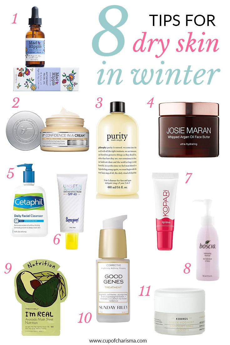 9 Tips for Dry Skin in the Winter - Cup of Charisma  Dry skin