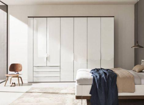 Horizont 10500 draaideur kast - 6 deuren laden, wit, Nolte meubel verkrijgbaar bij Slaapkenner Theo Bot Dorpsstraat 162 Zwaag / Hoorn ( N-H) www.theobot.nl  Nolte Möbel