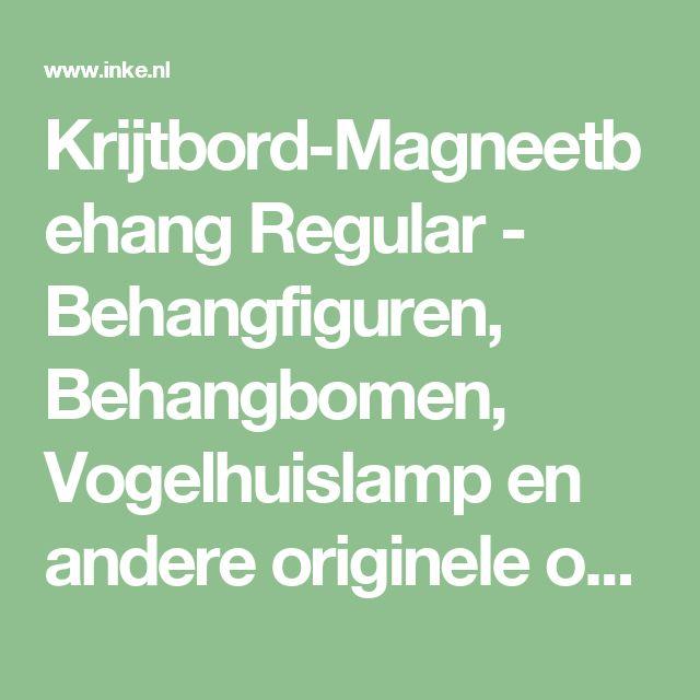 Krijtbord-Magneetbehang Regular - Behangfiguren, Behangbomen, Vogelhuislamp en andere originele ontwerpen van Inke Heiland ©