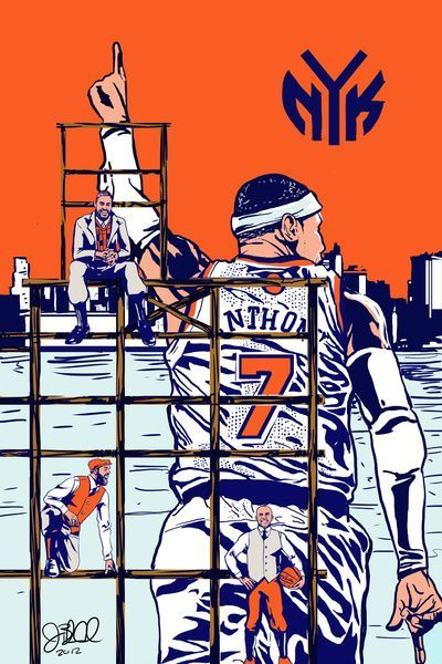 Carmelo Anthony New York Knicks