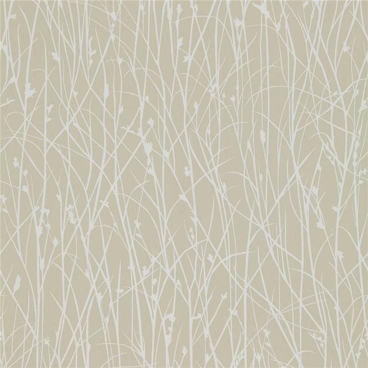 Natural / White - 110149 - Grasses - Kallianthi - Harlequin Wallpaper