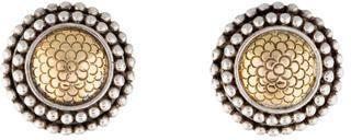 John Hardy Two-Tone Round Earrings