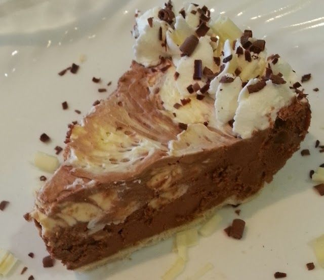 TUXEDO WAVES FRENCH SILK CHOCOLATES PIE | Recipes and food | Pinterest