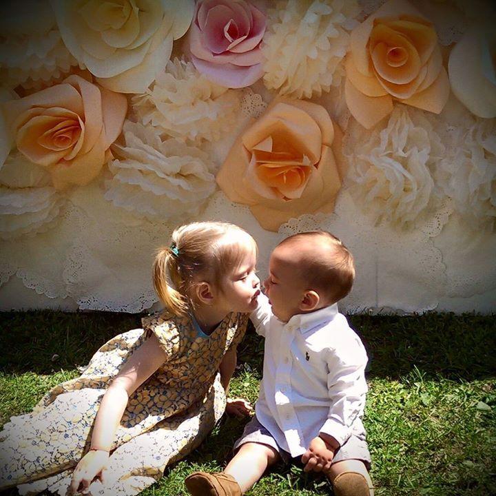 kids at the wedding <3