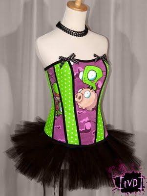 That's cute. Not into the tutu but I'd totally dig wearing the top.