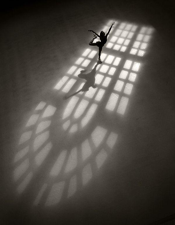 Figure Skating in Window Light by Robert Seale