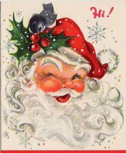 Santa Christmas Card...
