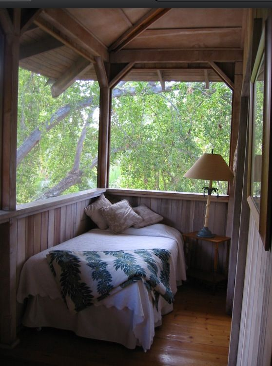 81 best sleeping porches images on pinterest bedrooms decks and a sleeping porch i would love this on a second floor screened in porch i can only imagine the spring and summer night listening to crickets frogs and the solutioingenieria Images