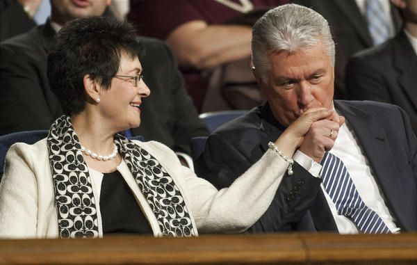 """""""What LDS General Authorities say about their wives."""" Absolutely touching!"""