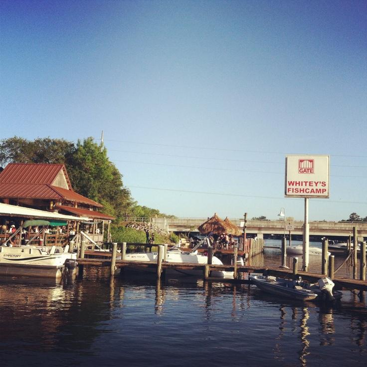 Whitey's Fish Camp. Orange Park, FL - great memories...had my rehearsal dinner here!