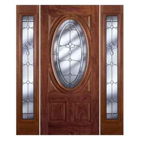 Chocolate Mahogany Exterior Door with Sidelites only $1999.99!  sc 1 st  Pinterest & 17 best Doors by Home Center Outlet images on Pinterest | Exterior ...