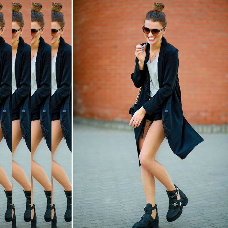 Zainspiruj się wiosennym lookiem Maffashion! Basicowa bluzka, króciutkie szorty, frędzle + fantastyczne buty Jeffrey Campbell! Sprawdź --> www.saltandpepper.pl/buty-coltrane.html