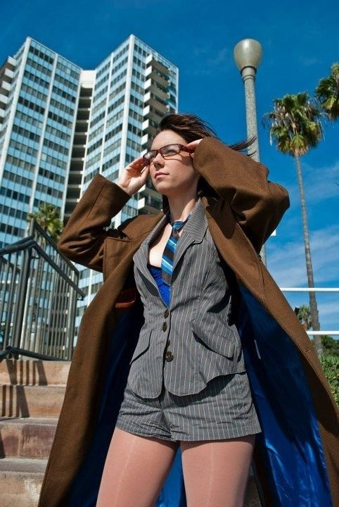 female doctor who cosplay 10thdoctor