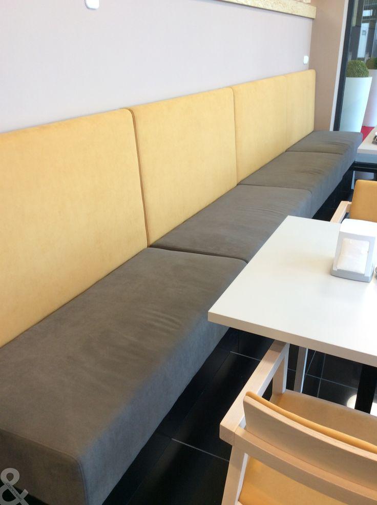 Reál Kávézó, Méliusz üzletház Hajdúböszörmény / Real Coffe shop, Méliusz shopping center, Hajdúböszörmény #coffee #cafe #interior #design #coninvest #reference #furniture