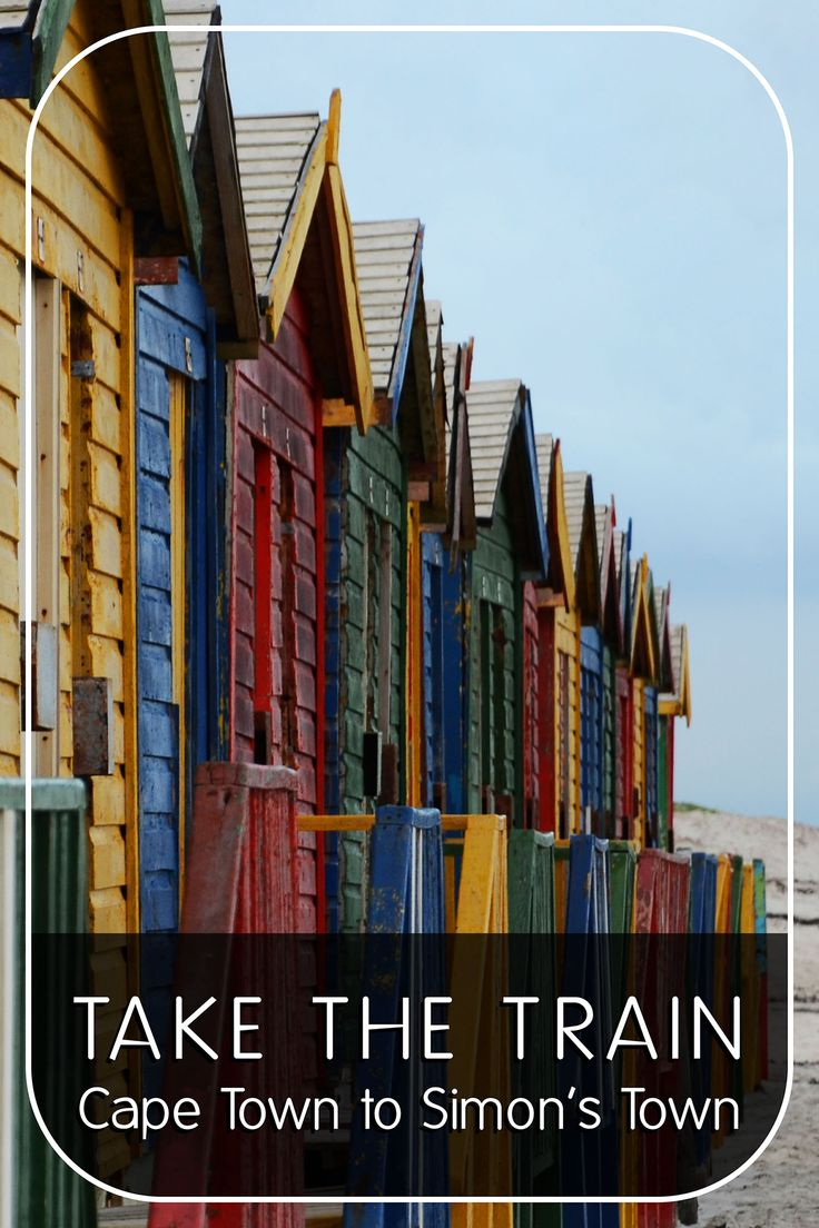 Take The Train - Cape Town To Simon's Town