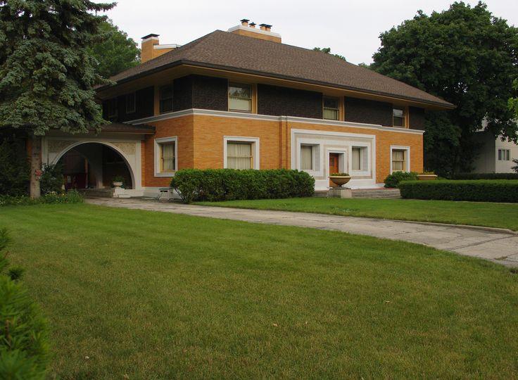 Райт, дом Уинслоу, 1894