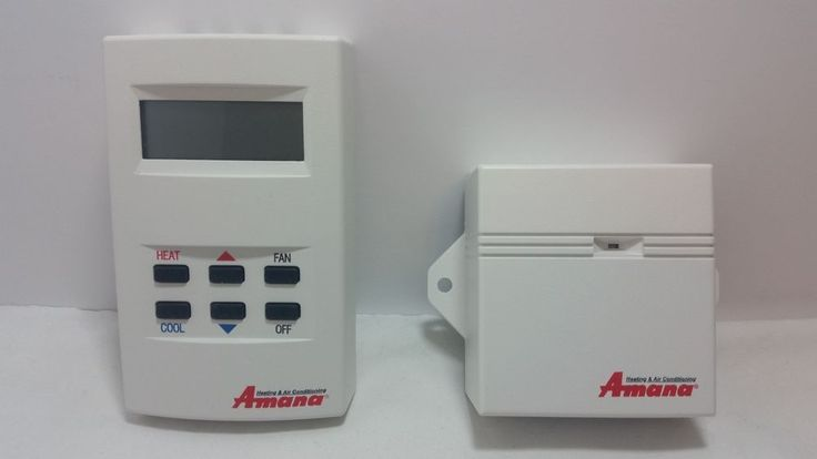 Amana DS01C-DT01 PTAC Air Conditioner Thermostat and Transceiver BRAND NEW!!! | Home & Garden, Home Improvement, Heating, Cooling & Air | eBay!