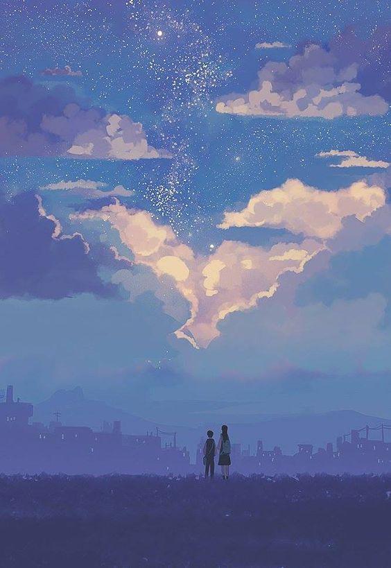 하늘을 보면 그저 네눈을 빌아보는 것 같이서