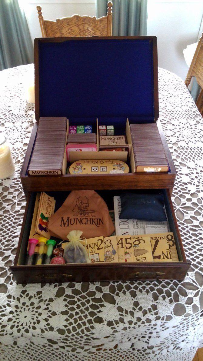 Custom Munchkin Box by Blackwind83 {game nerd