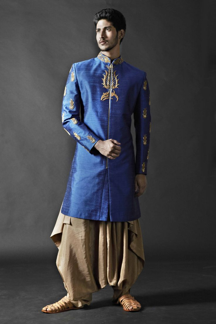 Get more trendy,get more classy,get more fashionable all new Groom wear from house of SAGAR TENALI. 09885812840
