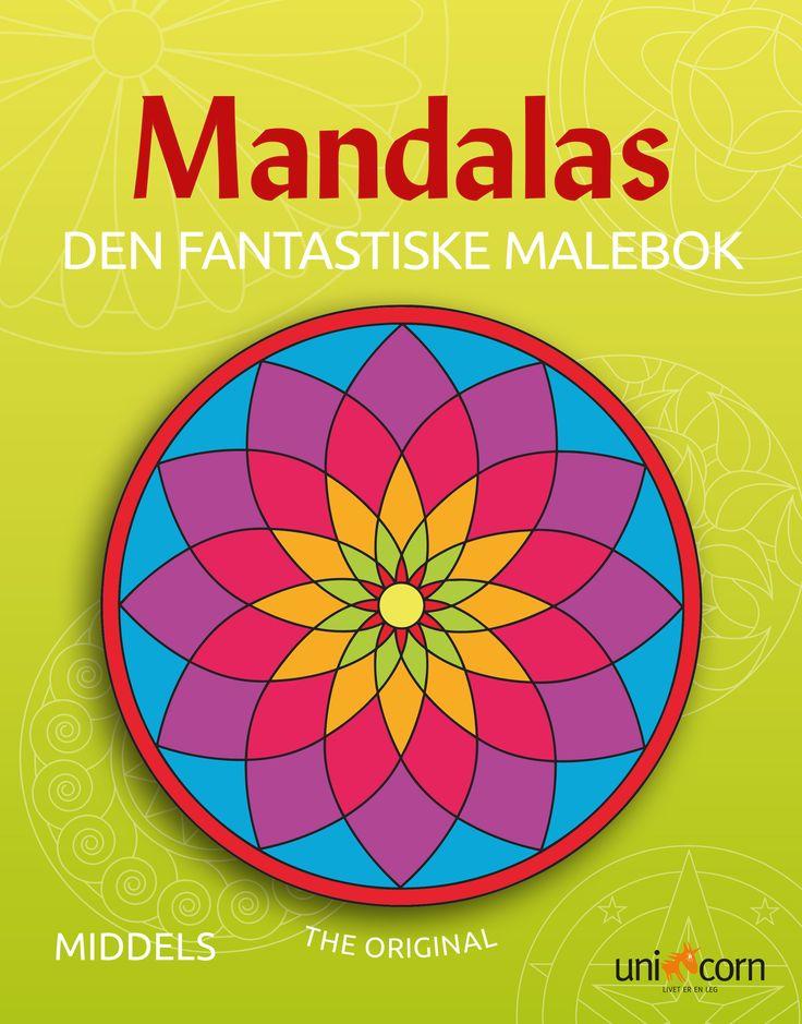 Mandalas Malebok NO Den Fantastiske Malebok Middels
