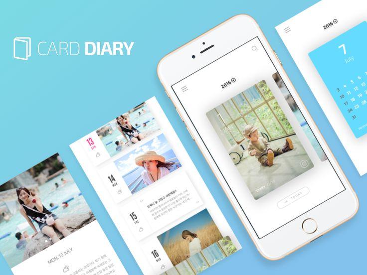 Card Diary by Unbong Kang