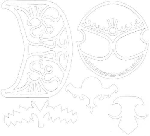Zelda Armor Designs Printouts by ~Zeldaness on deviantART