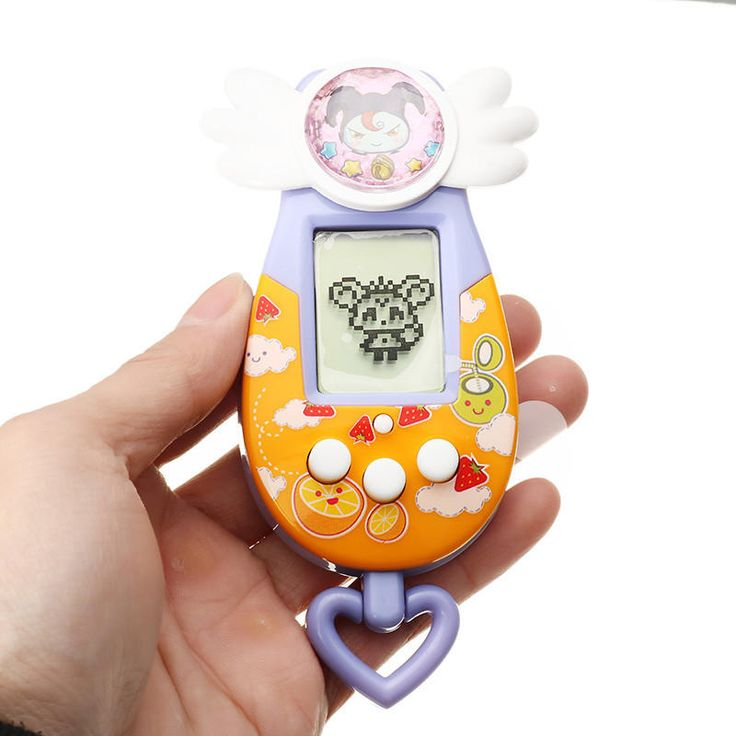 Electronic Pet Develop Machine Game Virtual Cyber Elves Doll Ver Juguetes For Kids Gift Toys