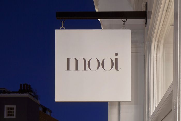 "Mooi is a UK fashion boutique, located on London's Kensington High Street, that retails an eclectic collection of ""luxurious textiles, hard-to-find designer labels and one-off designer womenswear pieces assembled from all over the world."" Inspired by the ""elegance and quality of the boutique's hand-crafted textiles"", multidisciplinary design agency Morse Studio developed a new brand identity …"