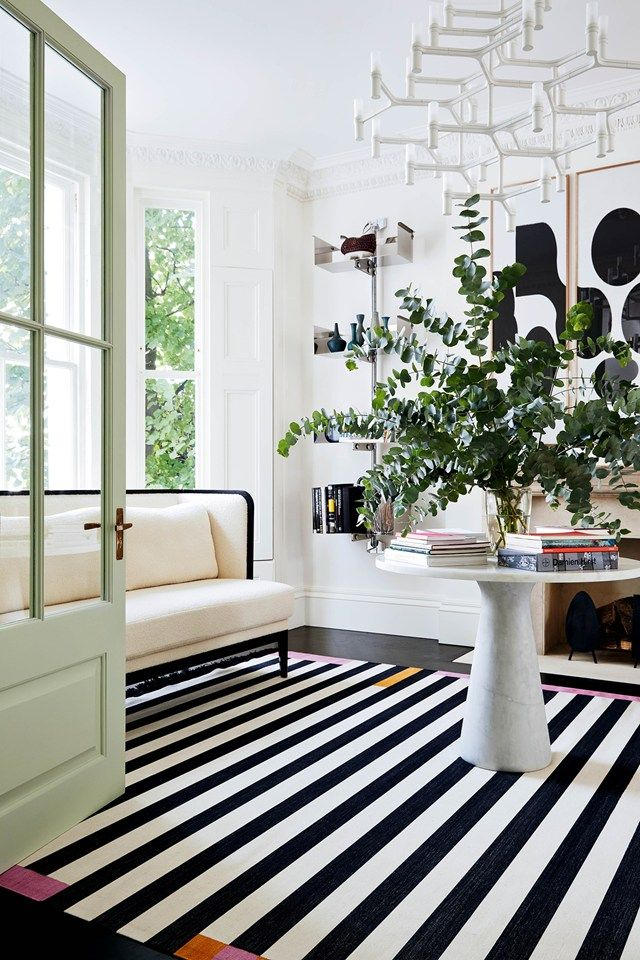 Mix and Chic: Home tour- A modern eclectic Notting Hill town house!