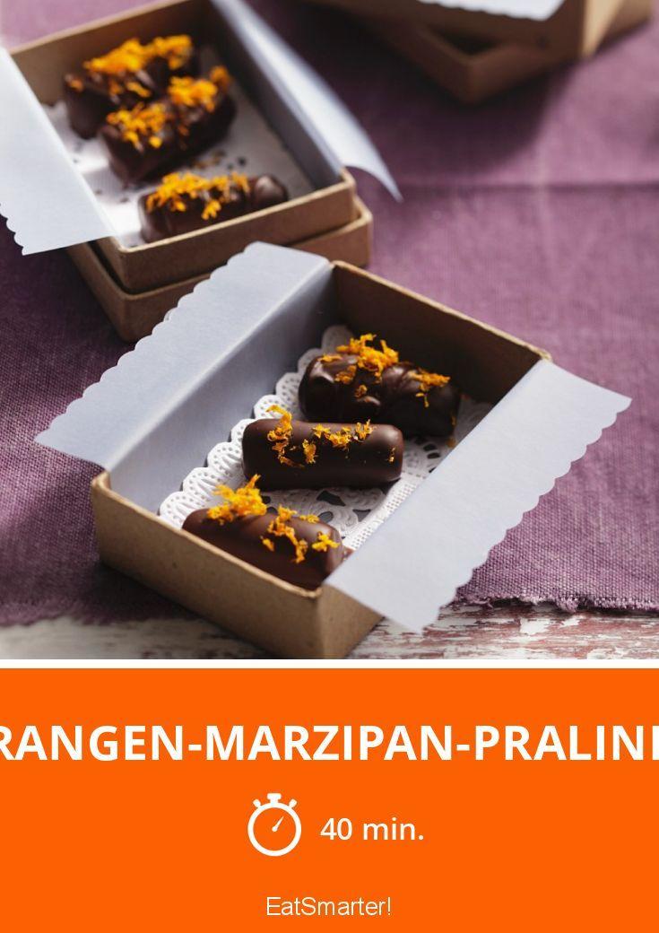 Orangen-Marzipan-Pralinen - smarter - Zeit: 40 Min.   eatsmarter.de
