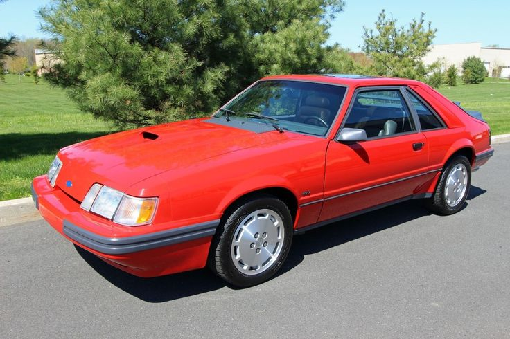 eBay: 1986 Ford Mustang SVO Hatchback 2-Door 1986 Ford Mustang SVO - 5 Speed - Leather Interior - No Reserve #fordmustang #ford