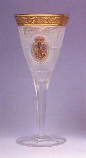 Copa del servicio de mesa de Alfonso XIII y Victoria Eugenia