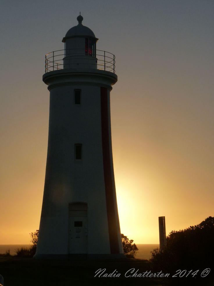 """Light House - Sunset"" Panasonic Lumix DMC-FZ35 f/8 1/60 ISO-125 Photographed by Nadia Chatterton (C)"