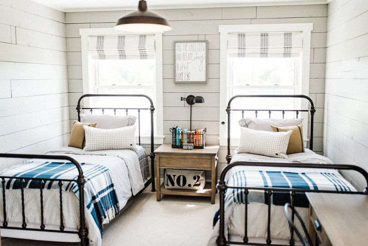 Modern Farmhouse By Beautiful Chaos In 2019 Boy Room