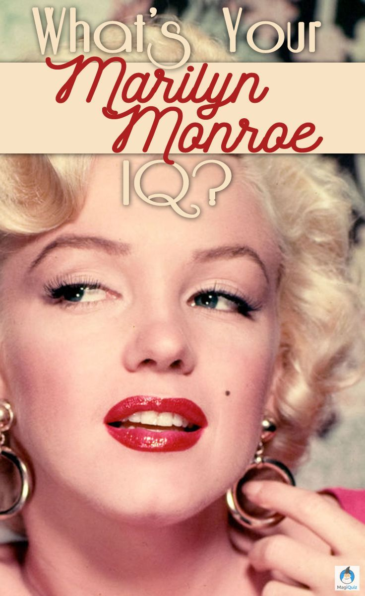Of course you know her face, but do you know the woman behind the iconic platinum blonde hair? From her movie career to her personal life, trademark makeup and unforgettable quotes, take this quiz to see just how well you know the life of the late Marilyn Monroe!
