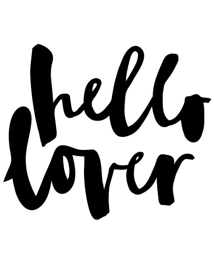 Hello Lover // jasmine dowling