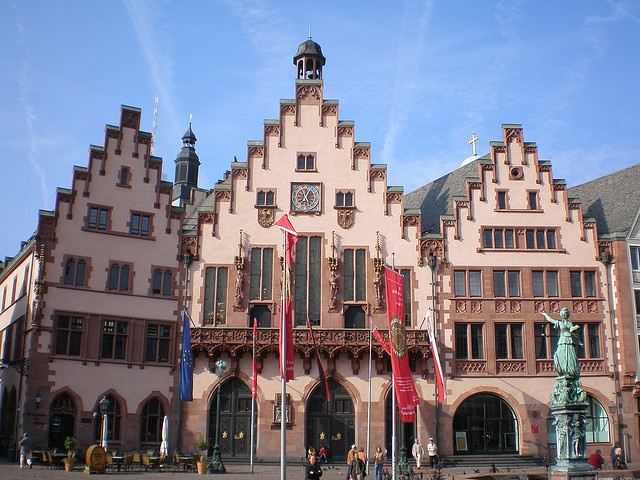 Altes Rathaus (The old city hall), Römerberg, Frankfurt am Main