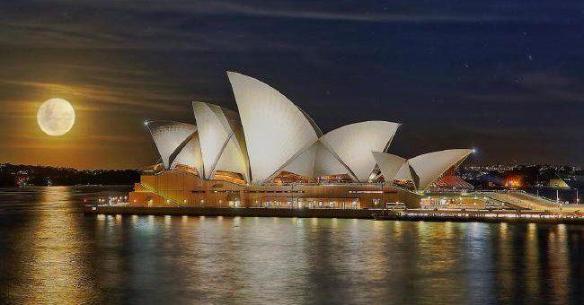 Сидней.Оперный театр