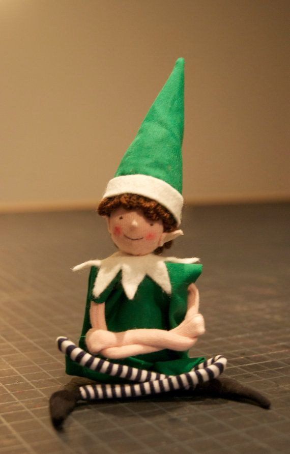 Christmas boy and girl Elf sewing pattern by ateliercaroline, $8.00