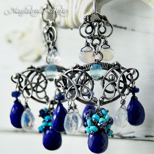 The MARTINIQUE Earrings - Tropical Chandelier Earrings | Flickr - Photo Sharing!