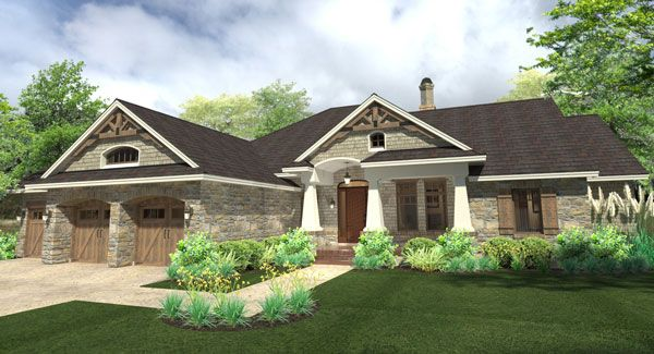 17 best images about one story house plans on pinterest for Best selling craftsman house plans