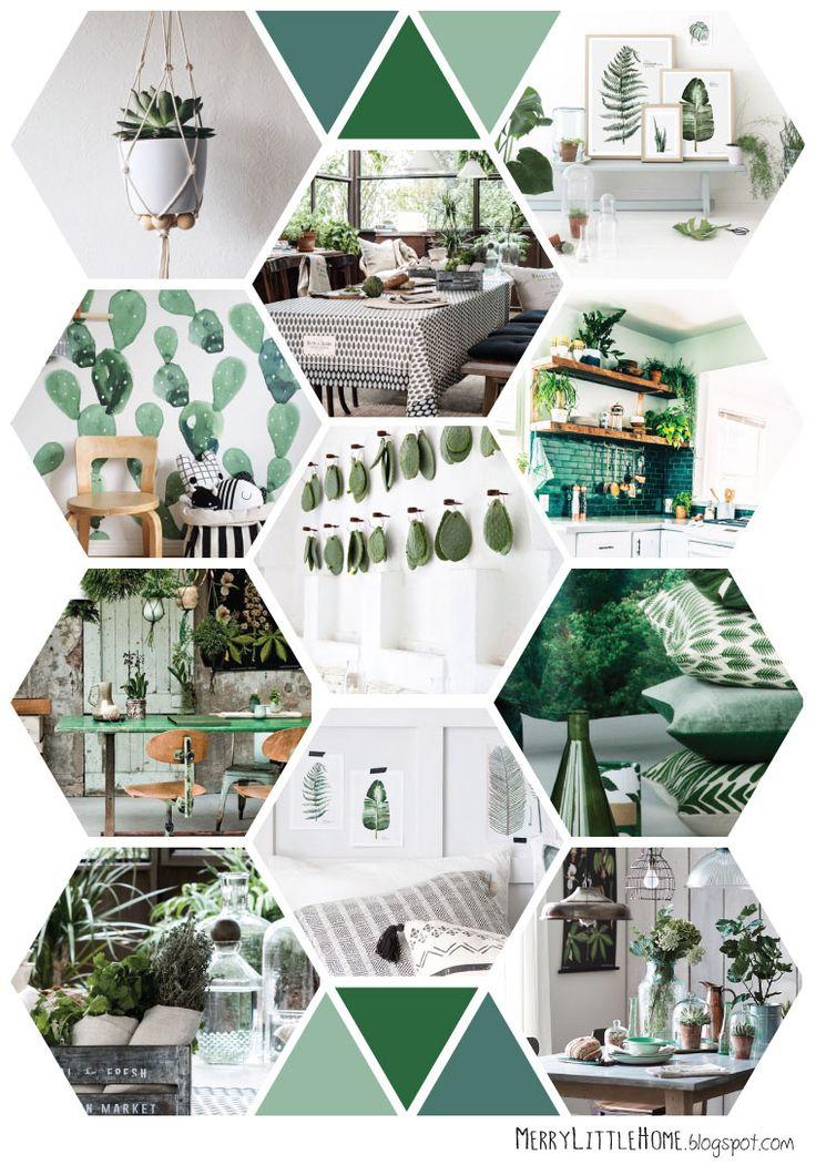 merry little home: BOTANICAL INTERIOR